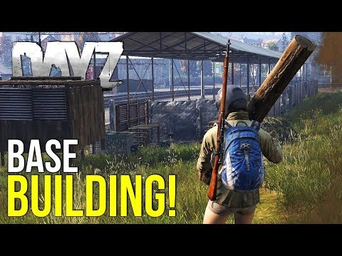 Building A Base In DayZ, Planks, Logs, Nails & Tools! ~ #DayZ 0.63 Stress Test #55