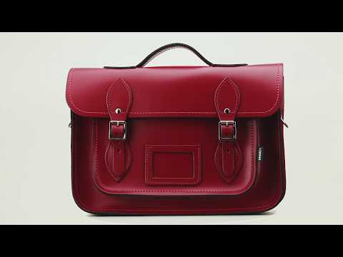 Oxblood Leather Bags by Zatchels