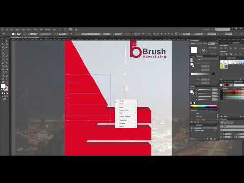 How to Create a Vector Poster ¦ Poster Design Tutorial Illustrator thumbnail