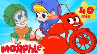 Morphle The Motorbike - My Magic Pet Morphle | Cartoons For Kids | Morphle TV | Mila & Morphle