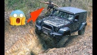DANGEROUS 4x4 spotting Jeep Wrangler, Nissan Patrol, Land Rover Defender extreme offroading Part 2