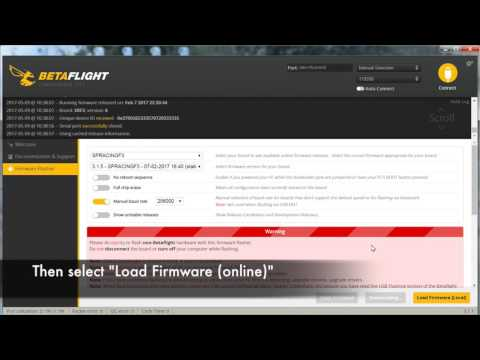 Torrent Programming: Installing or Updating Betaflight