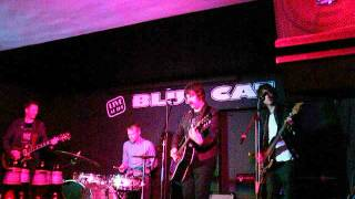 """Xander Smith and Friends, """"Pico"""", at the Blue Cat Cafe in Heaton Chapel, Stockport, 26th August 2012"""