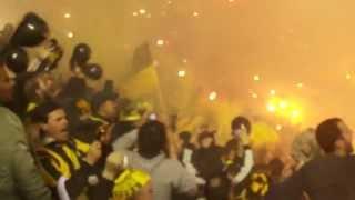 Barra Amsterdam: Final Copa Libertadores 2011 | PEÑAROL vs Santos | Recibimiento