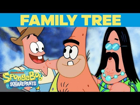 The PATRICK STAR Family Tree 🌳 SpongeBob