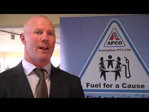 Barry Hall APCO Ambassador reporting from  Race4 A Reason - APCO Foundation