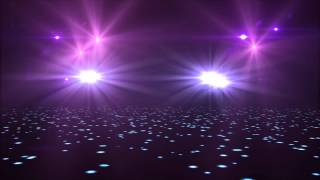 Spotlight Flashing Lights Background Motion Graphic Free Download