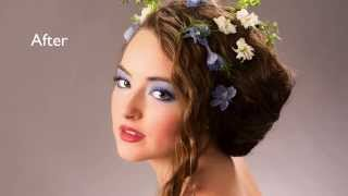 Redding MakeOver and Photo Experts-Floral Hair