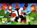 Minecraft BEN 10 : PODERES DO OMNITRIX !!! #02 ( Ben 10 In Minecraft)
