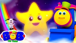 Twinkle Twinkle Little Star | Nursery Rhymes and Kids Song | Baby Cartoon | Bob The Train | Kids Tv