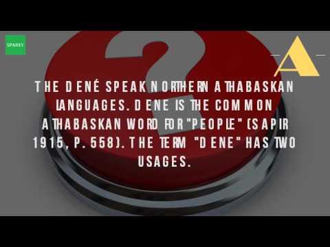 What Is Dene Language?
