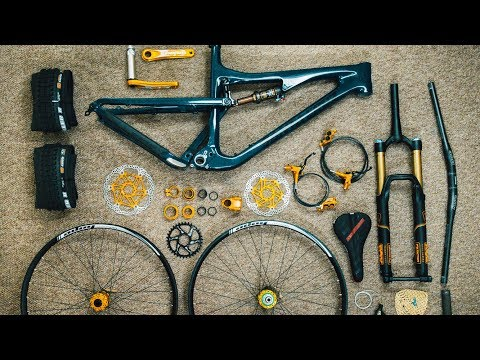 MOUNTAIN BIKE DREAM BUILD - SANTA CRUZ 5010
