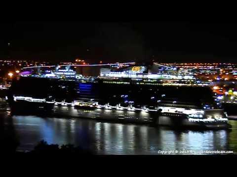 ROYAL PRINCESS First Arrival At Port Everglades 10-27-2013