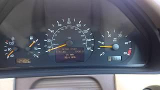 2002 W210 220 CDI Diesel Rough Idle Irregular Intermittent HELP