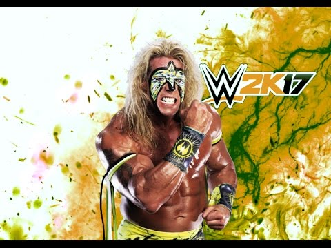 WWE 2K17 - ULTIMATE WARRIOR SIGNATURES + FINISHERS - YouTube