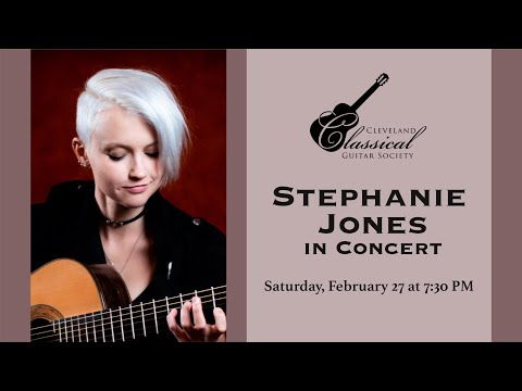 Stephanie Jones in Concert