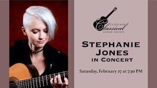 Stephanie Jones in Concert