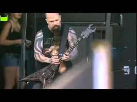 Slayer - Dead Skin Mask Live [download festival 2007]