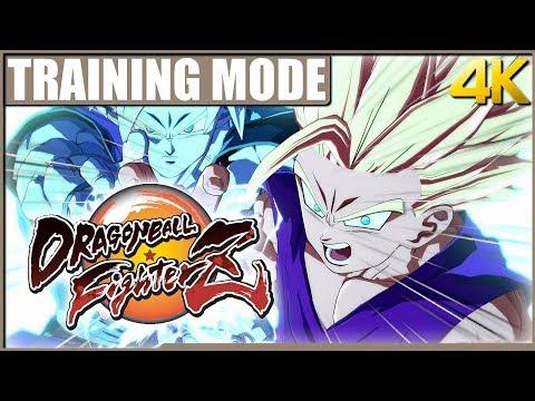 Dragon Ball FighterZ : Training Mode en 4K (Xbox One X)