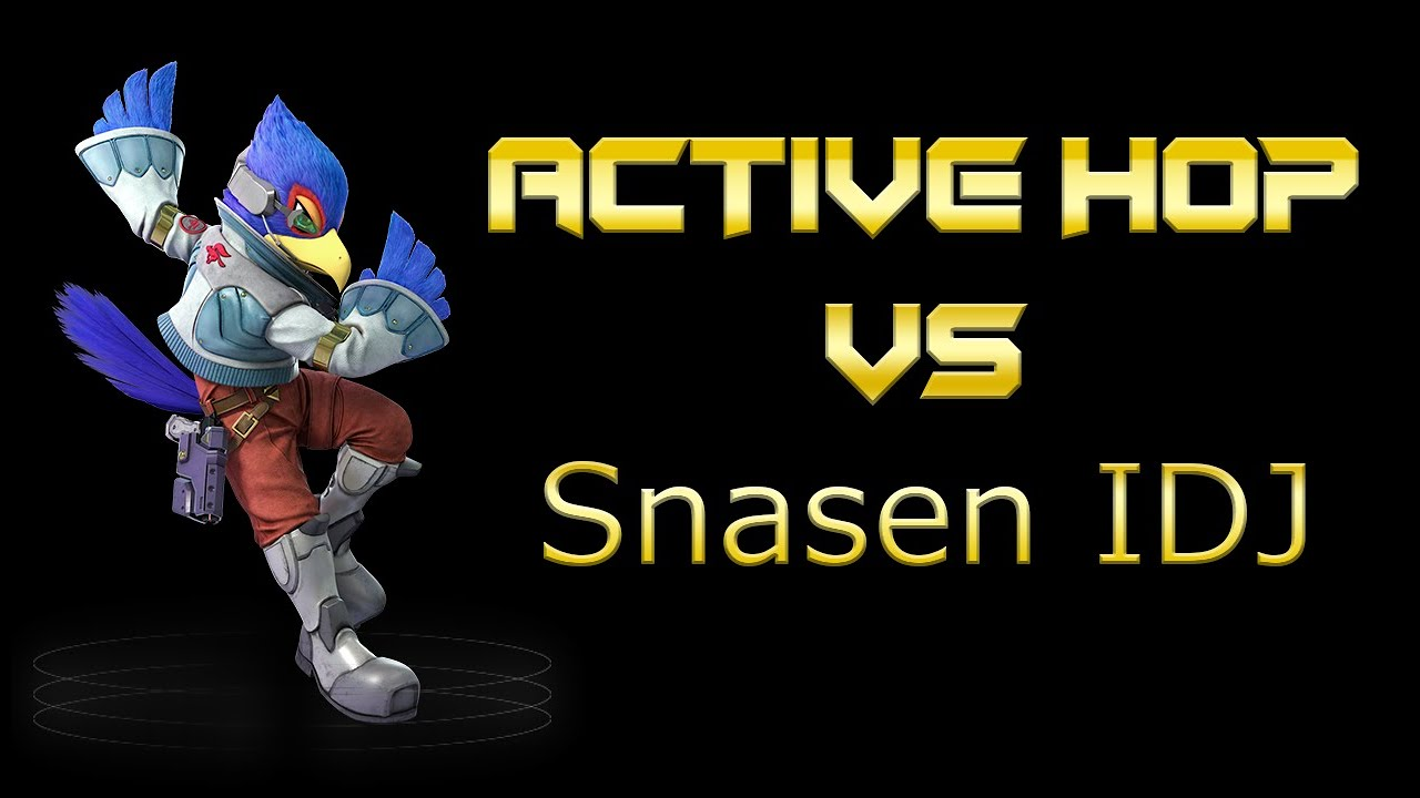 Snasen IDJ Tech: Is It The Same As Active Hop? | Smash Ultimate