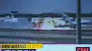 Cargo Plane Dramatic Video plane landing, bouncing and then bursting into flames  + US Plane crash