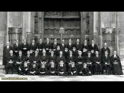 BBC Choral Evensong: King's College Cambridge 1967 (David Willcocks)