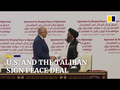 us,-taliban-sign-historic-peace-deal-to-end-war-in-afghanistan-and-withdraw-us-troops