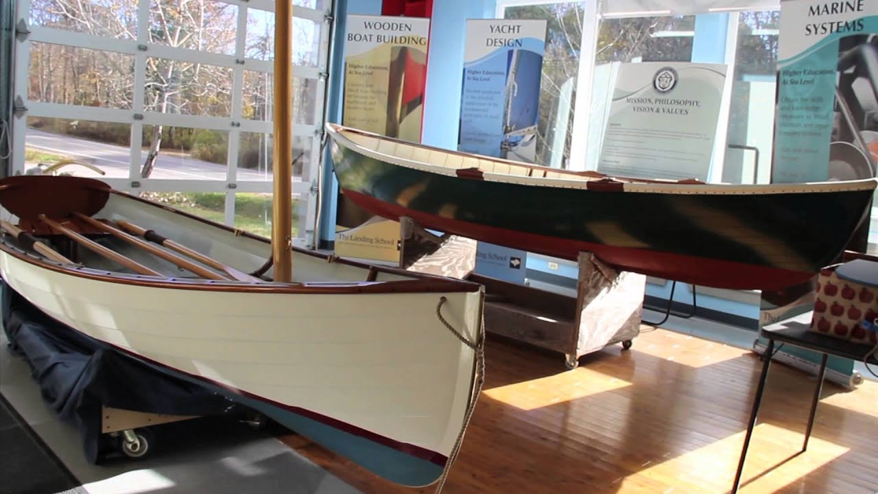 The Landing School Wooden Boats - The Acorn Skiff and Joel ...
