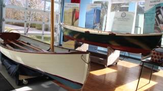 The Landing School Wooden Boats - The Acorn Skiff and Joel White Peapod