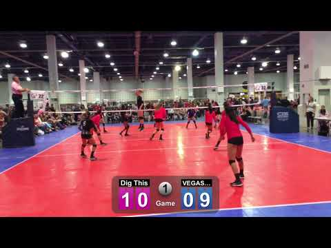 Dig This 14-1/ Game 1 against Vegas Aces