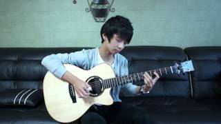 A Ha) Take On Me   Sungha Jung Acoustic Tabs Guitar Pro 6