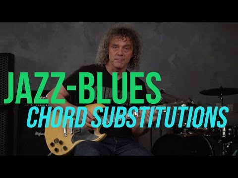 Jazz-Blues Chord Substitutions Lesson with Jimmy Brown!