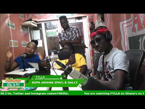 Fylla with Jerry Justice, Sally and Supa Ghana 2Pac on Adom FM (20-9-18)