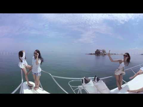 Sassha Carisa And Pricyla Neva: Behind The Scene Wonderfull Indonesia Jakarta 360 Video