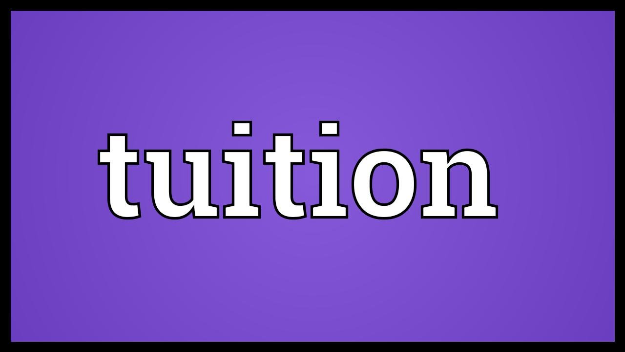 definition tuition