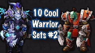Jessiehealz - 10 Cool Warrior Transmog Sets #2 (World of Warcraft)