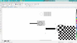 Corel Draw Tips & Tricks How to make a Magnifying Glass with an effect