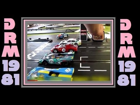 2018 DRM 1981 Digital Slot Car League Race 2 Nurburgring Germany