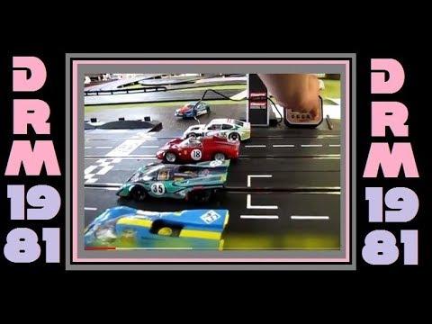 2018 DRM 1981 Digital Slot Car League Race 2 Nurburgring Germany