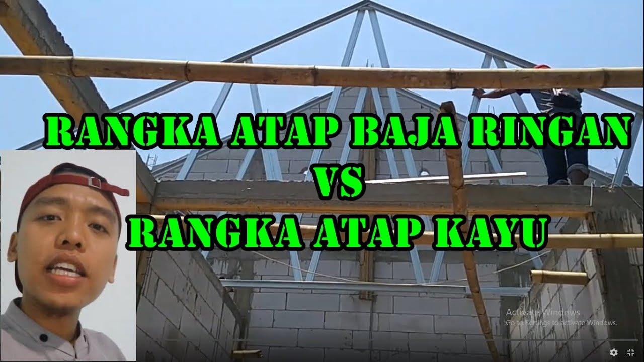 kanopi baja ringan vs kayu keunggulan rangka atap cnp model miring minimalis