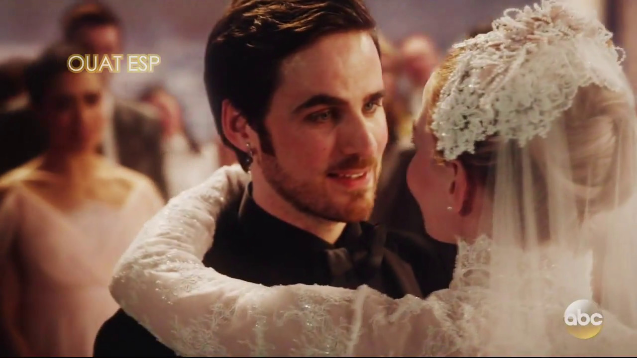 Matrimonio Tema Once Upon A Time : Once upon a time boda de emma y hook votos beso