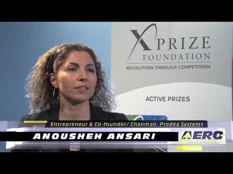 Aero-TV: Anousheh Ansari - The Woman Behind the Prize