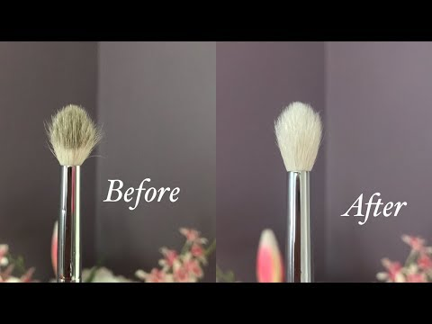 """How I Wash & Care For My Morphe/""""Cheaper"""" Brushes 2018 