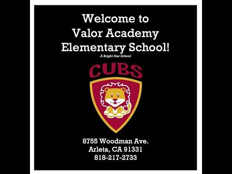 Valor Academy Elementary School- 2020-2021