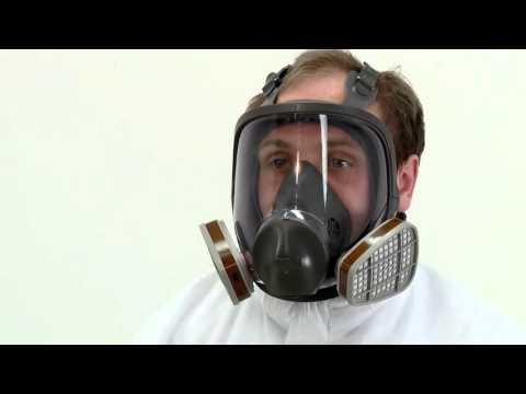 3M Full Face Reusable Respirator 6800
