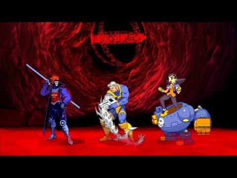 Marvel VS Capcom 2 - Gambit/Cable/Tron Bonne - Expert Difficulty Playthrough