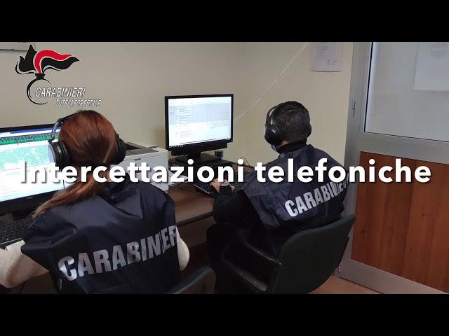 Falso compost Carabinieri Forestali Cuneo