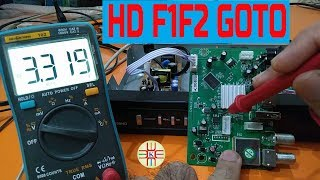 HD F1F2 Goto Receiver Fault Troubleshooting and Repairing Hints Complete Guide in Urdu/Hindi Part-1
