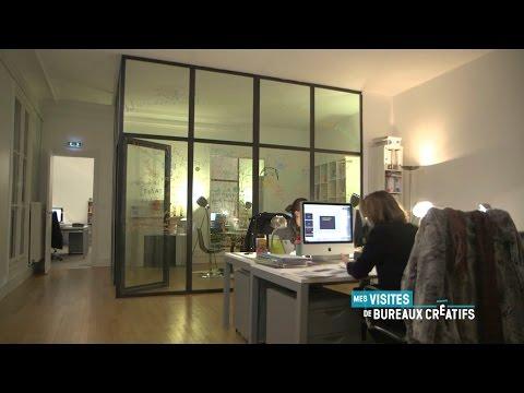 Canal + visite les locaux de l'agence Bug