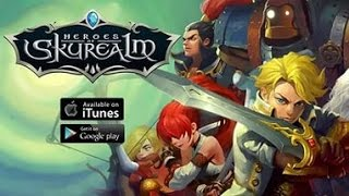 Heroes of Skyrealm (Android Ios) - обзор, летсплей, геймплей